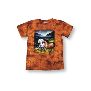 Kinder T-Shirt, Pferde